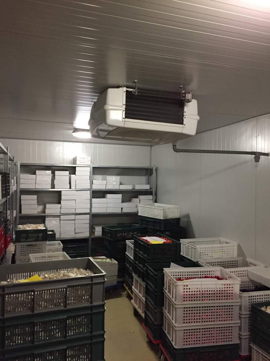 Installation chambre froide friga bohn secteur alimentaire for Installation chambre froide