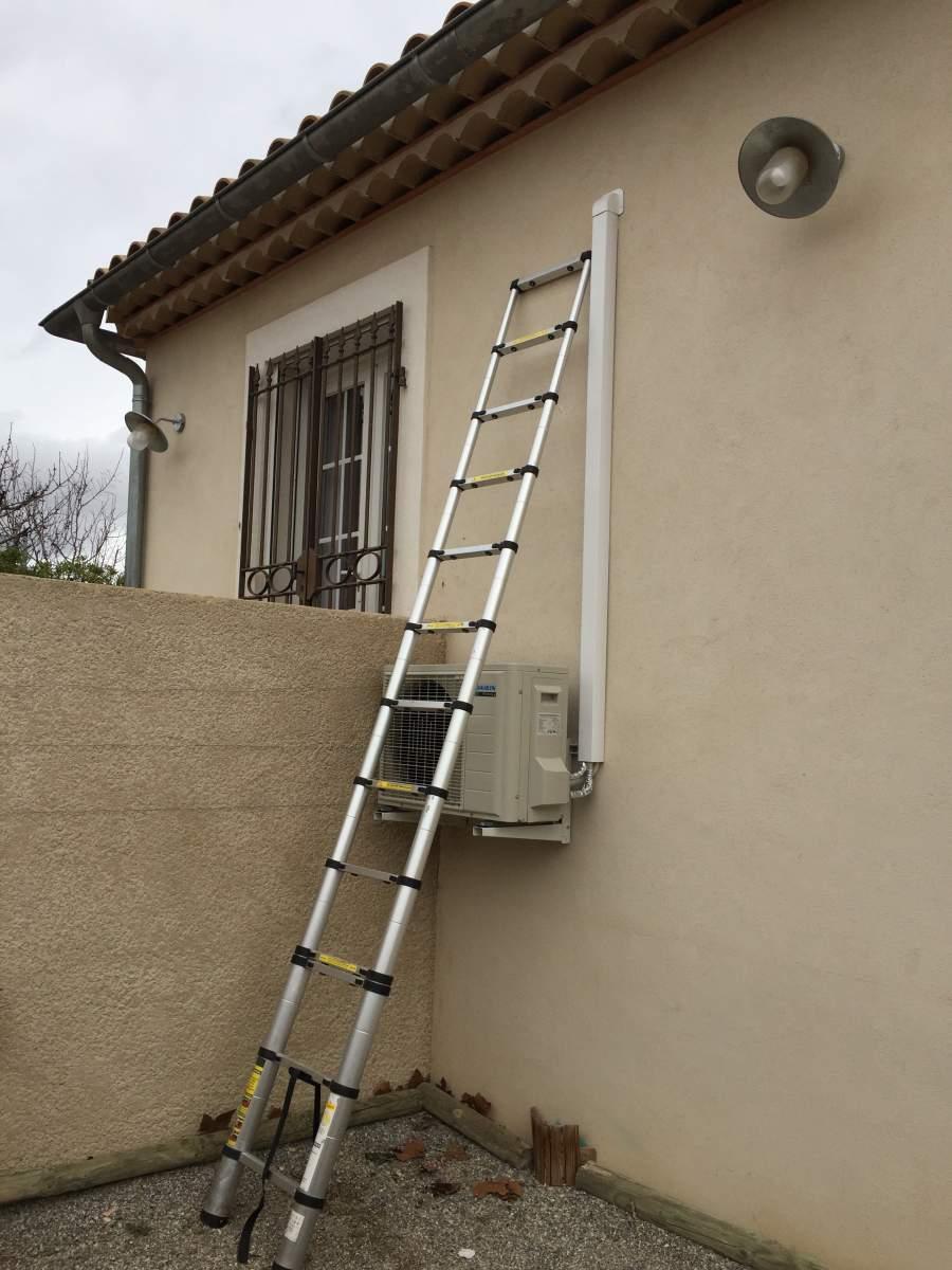 Installer Une Clim Réversible en ce qui concerne installation de climatisation réversible daikin salon et salle de