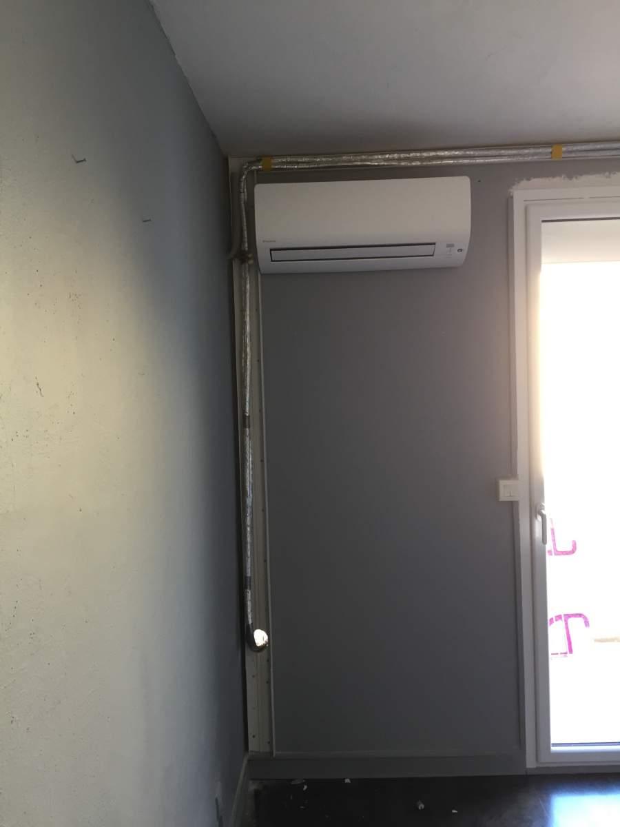 installation de climatisation r versible inverter. Black Bedroom Furniture Sets. Home Design Ideas