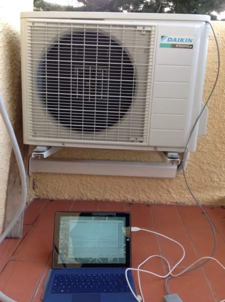 recherche de fuite de refrigerant sur les climatiseurs et pompe a chaleur d pannage. Black Bedroom Furniture Sets. Home Design Ideas